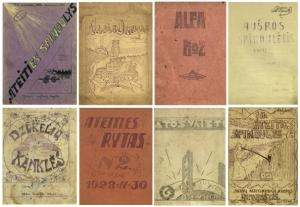 XX a. pr. Rankraštiniai laikraštėliai portale epaveldas.lt