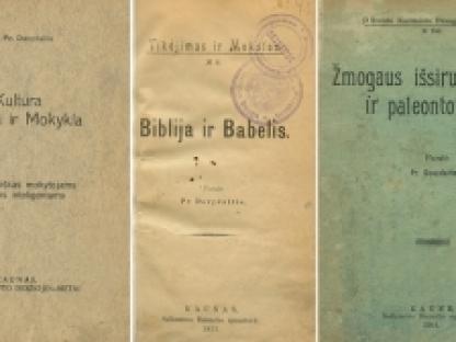 Nepriklausomybės akto signatarų leidinius prisimenant: Pranas Dovydaitis