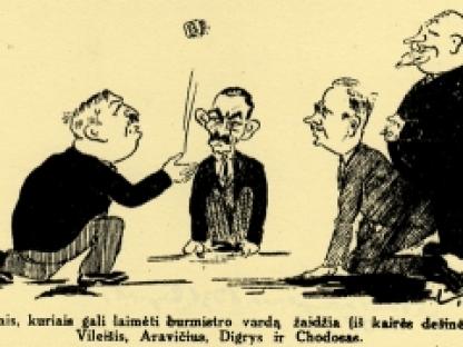 Tarpukario Kauno aktualijos ir personalijos šaržuose ir karikatūrose