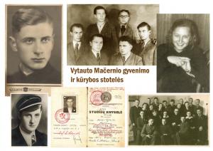 Tragiško likimo poeto Vytauto Mačernio gyvenimo ir kūrybos stotelės