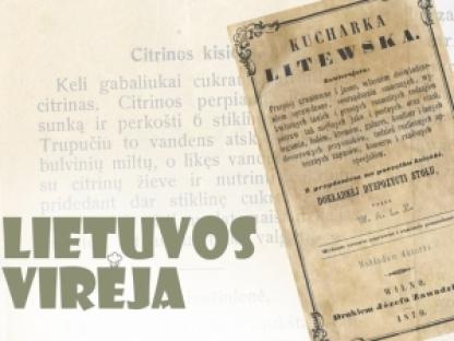 """""""Lietuvos virėja"""" – daugelio kartų kulinarijos enciklopedija!"""