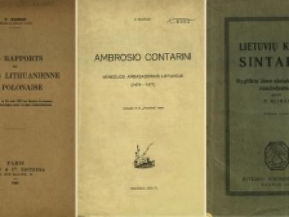 Nepriklausomybės Akto signatarų leidinius prisimenant: Petras Klimas