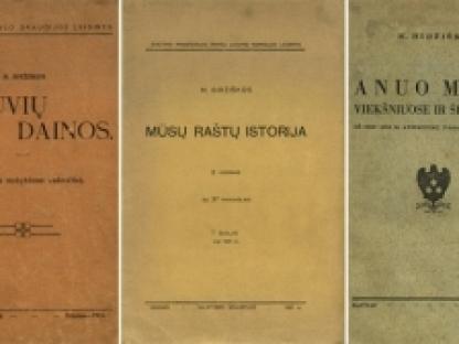 Nepriklausomybės Akto signatarų leidinius prisimenant: Mykolas Biržiška