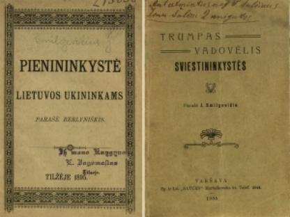 Nepriklausomybės Akto signatarų leidinius prisimenant: Jonas Smilgevičius