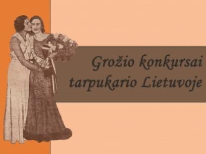 Grožio konkursai tarpukario Lietuvoje