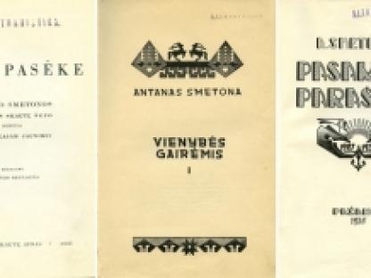 Nepriklausomybės Akto signatarų leidinius prisimenant: Antanas Smetona