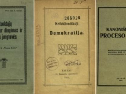 Nepriklausomybės Akto signatarų leidinius prisimenant: Kazimieras Steponas Šaulys