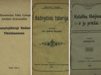 Nepriklausomybės akto signatarų leidinius prisimenant: Justinas Staugaitis