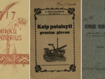 Nepriklausomybės Akto signatarų leidinius prisimenant: Aleksandras Stulginskis